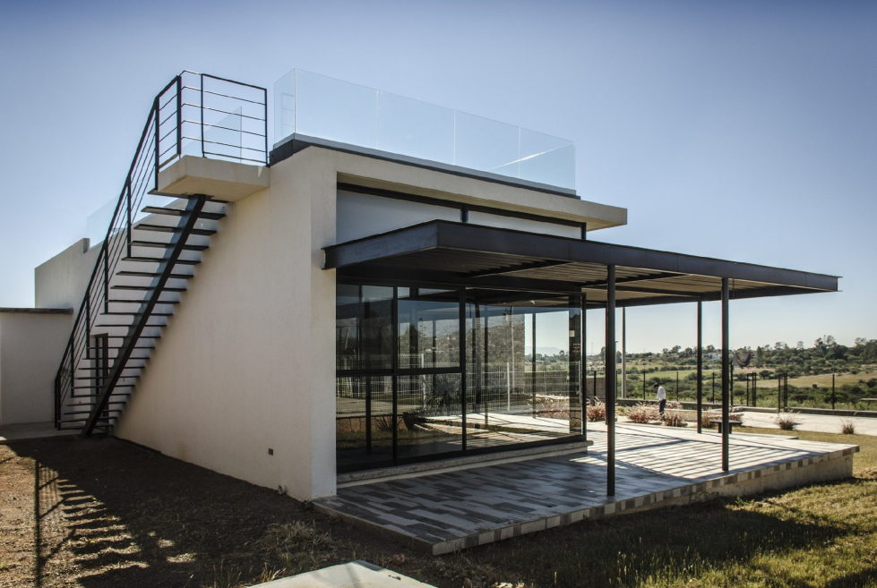 The modern private house La Tomatina house in Aguascalientes, Mexico 13