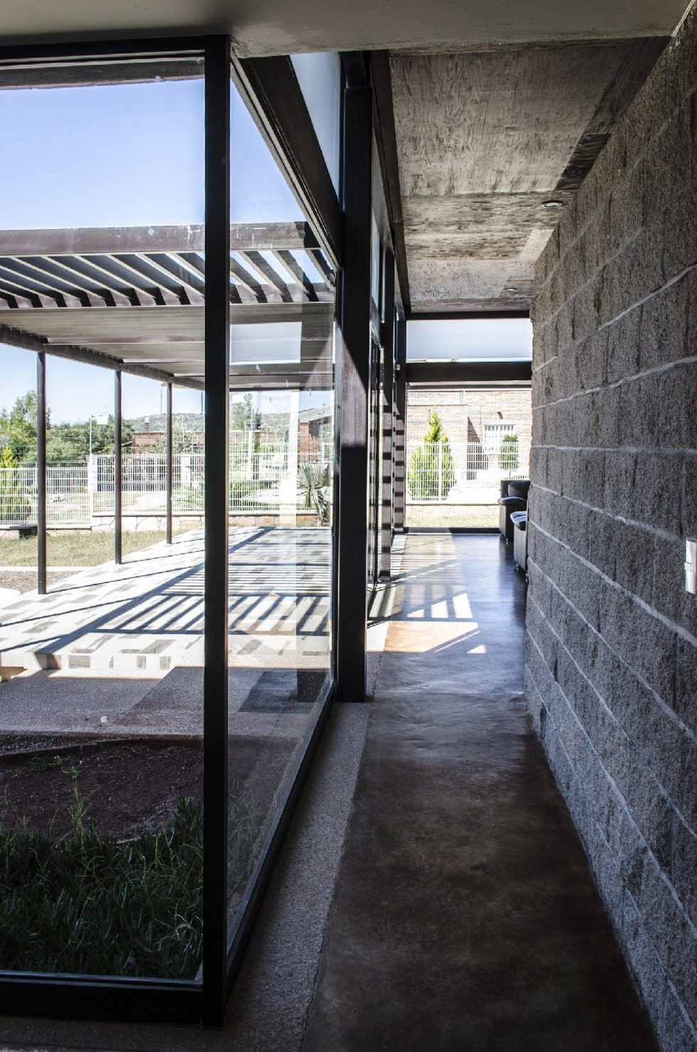 The modern private house La Tomatina house in Aguascalientes, Mexico 15