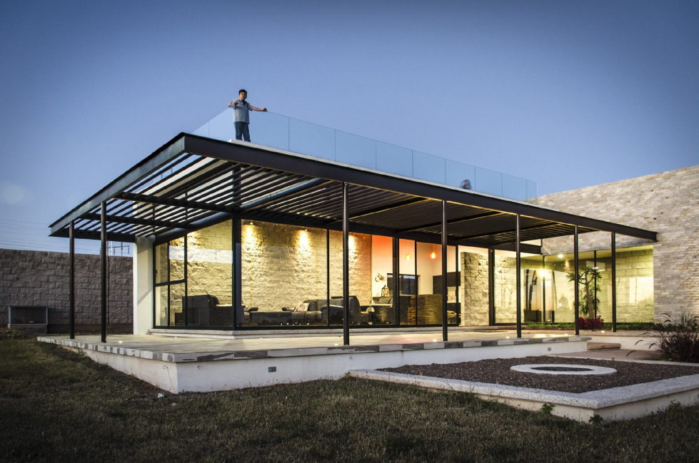 The modern private house La Tomatina house in Aguascalientes, Mexico 17