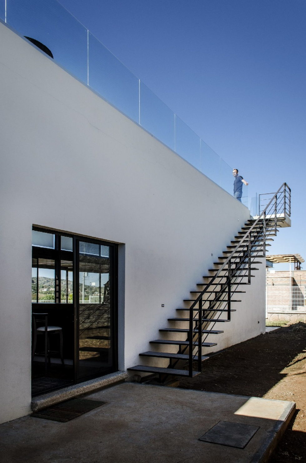 The modern private house La Tomatina house in Aguascalientes, Mexico 2