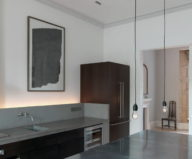 The restoration of the townhouse in London 3