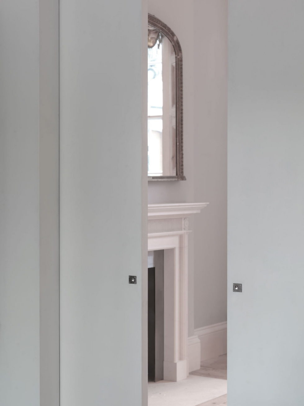 The restoration of the townhouse in London 4