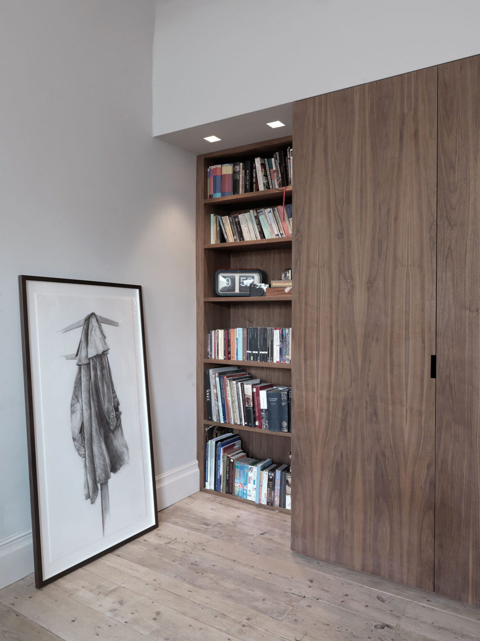 The restoration of the townhouse in London 8