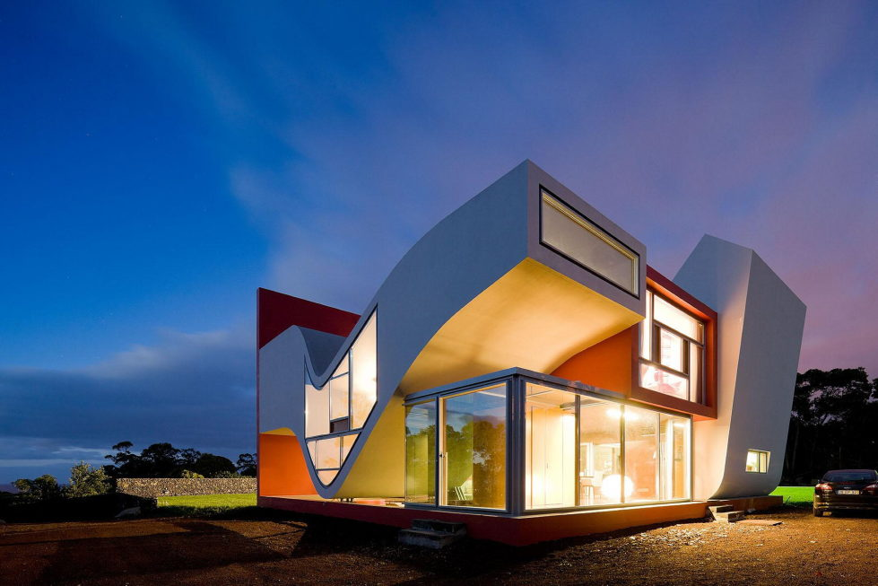 Voo dos Passaros The House In Portugal, The Project Of Bernardo Rodrigues Architect 21