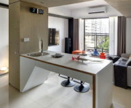 Wood Box Apartments From Cloud Pen Studio In Taichung, Taiwan 14