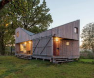 Zilvar The Modern House In Czech Village From ASGK Design Studio 11