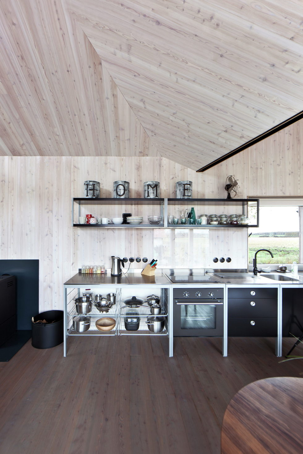 Zilvar The Modern House In Czech Village From ASGK Design Studio 14