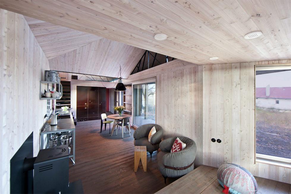 Zilvar The Modern House In Czech Village From ASGK Design Studio 16