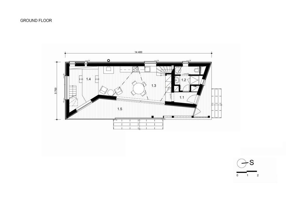 Zilvar The Modern House In Czech Village From ASGK Design Studio 18