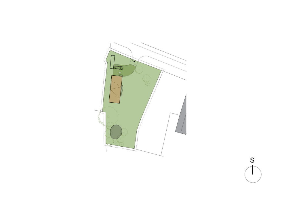 Zilvar The Modern House In Czech Village From ASGK Design Studio 19