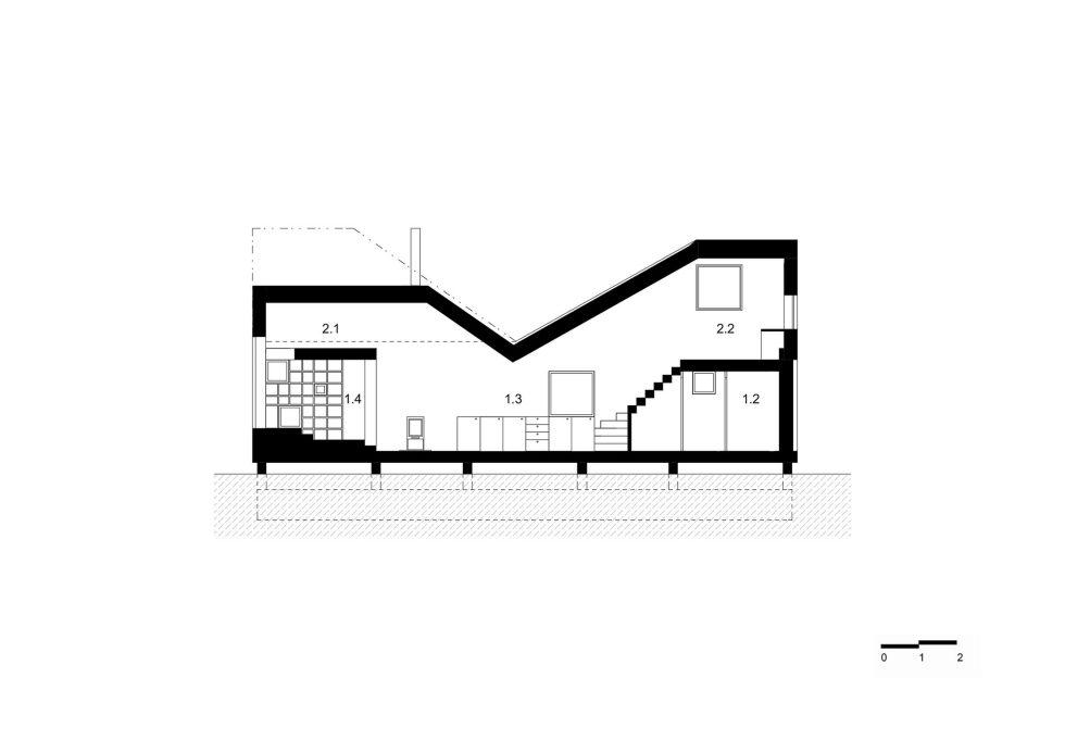 Zilvar The Modern House In Czech Village From ASGK Design Studio 21