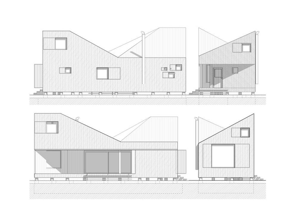 Zilvar The Modern House In Czech Village From ASGK Design Studio 22