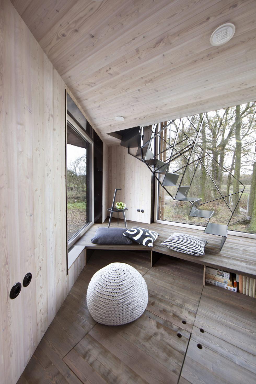 Zilvar The Modern House In Czech Village From ASGK Design Studio 3
