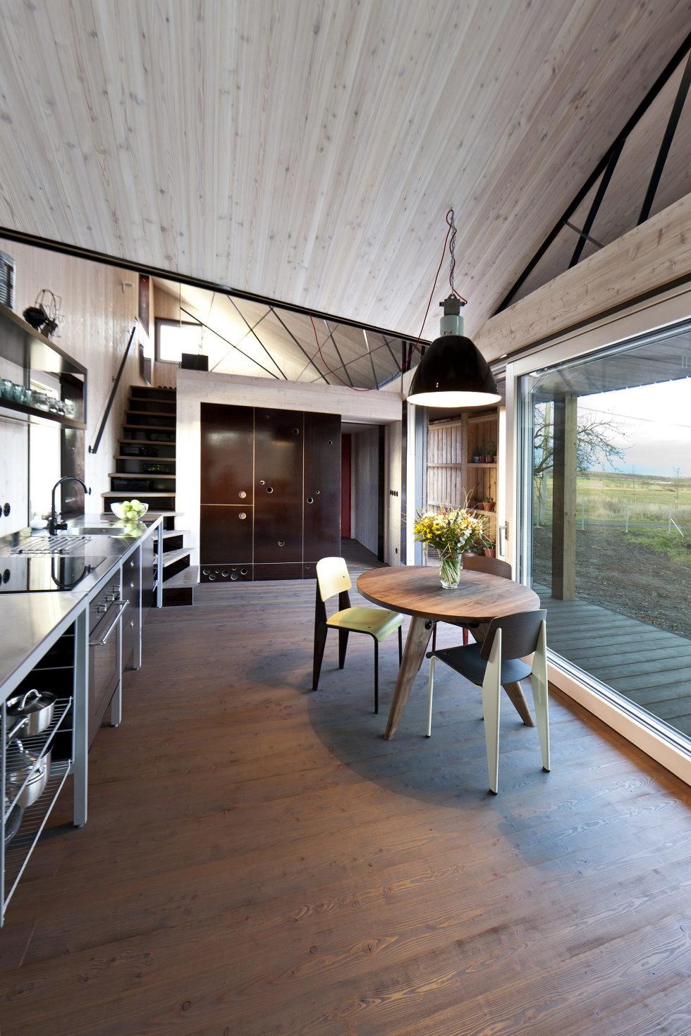 Zilvar The Modern House In Czech Village From ASGK Design Studio 8