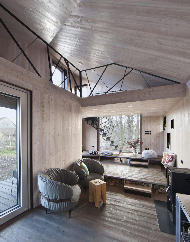 Zilvar The Modern House In Czech Village From ASGK Design Studio 9
