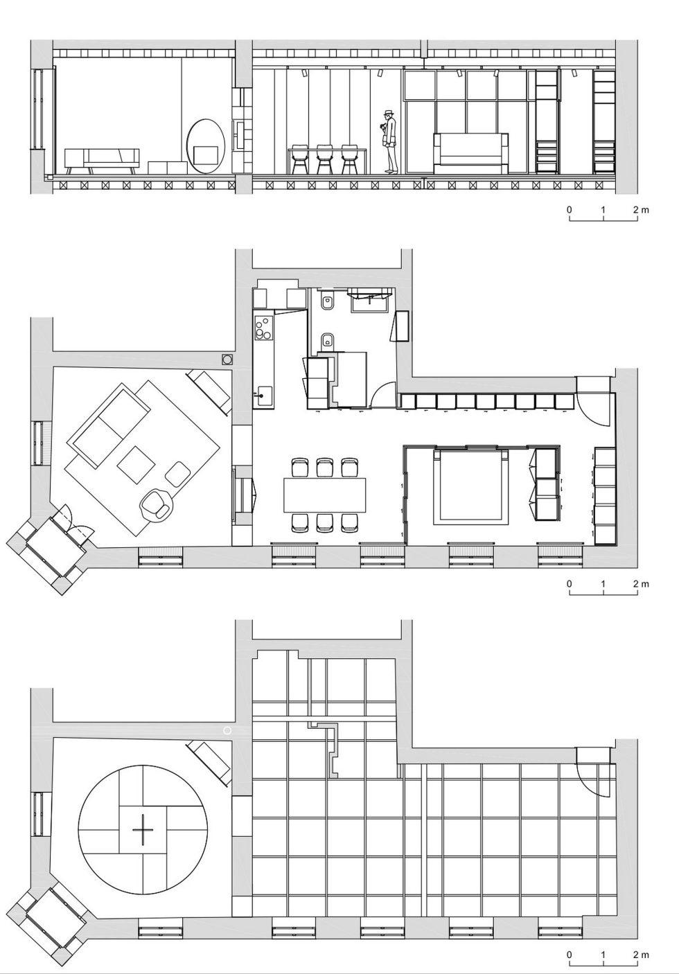 Apartment SP in Ljubljana, Slovenia by SADAR+VUGA studio 23