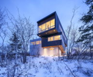 Fyren The Three-Stored House In Canada By Omar Gandhi Architect 1