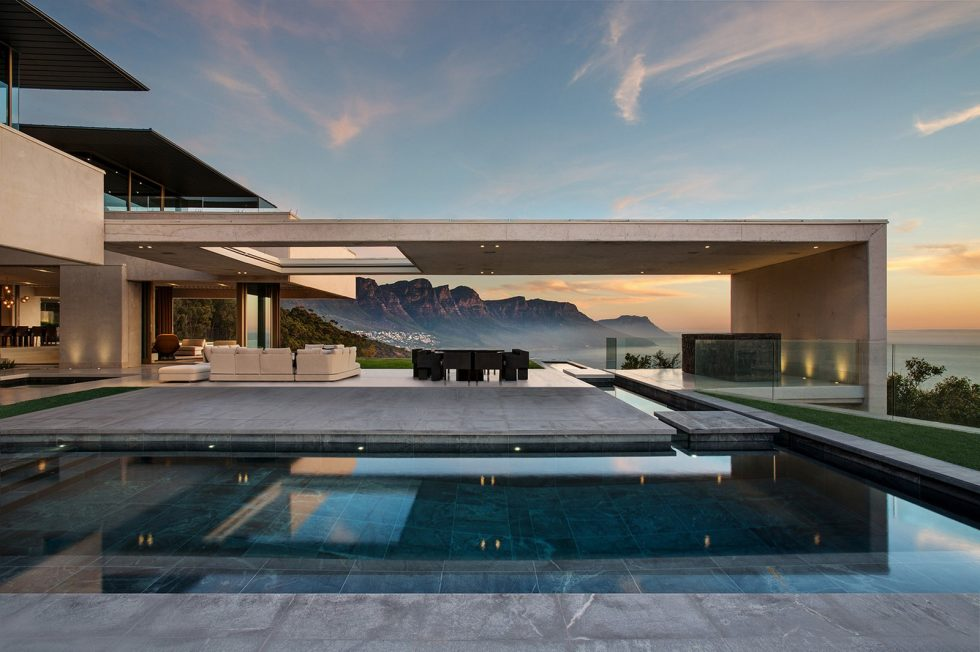 OVD 919 Villa At The Root Of Lion Head Mountain In South Africa From SAOTA Studio 1