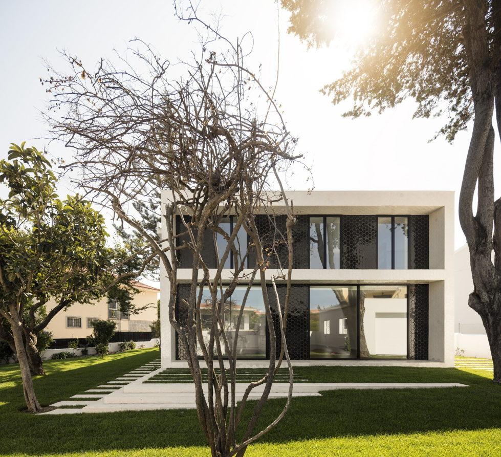Oeiras House in Portugal from Joao Tiago Aguiar studio 1