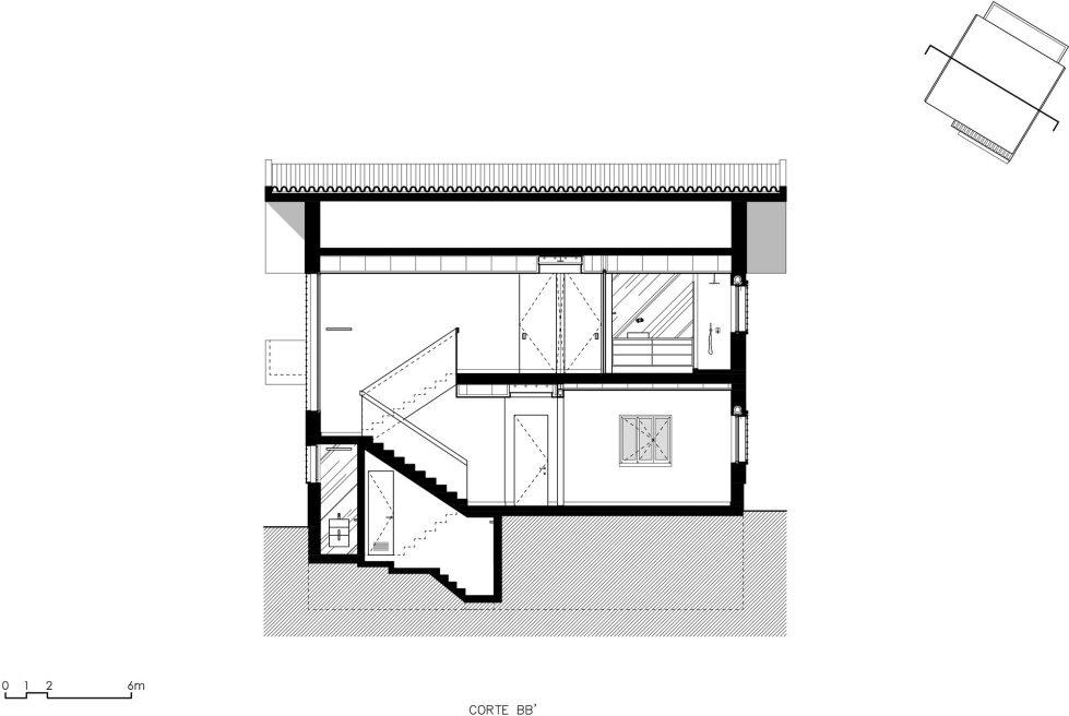 Oeiras House in Portugal from Joao Tiago Aguiar studio 36