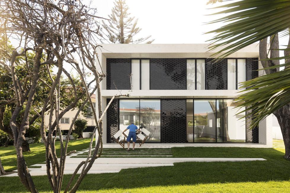 Oeiras House in Portugal from Joao Tiago Aguiar studio 6