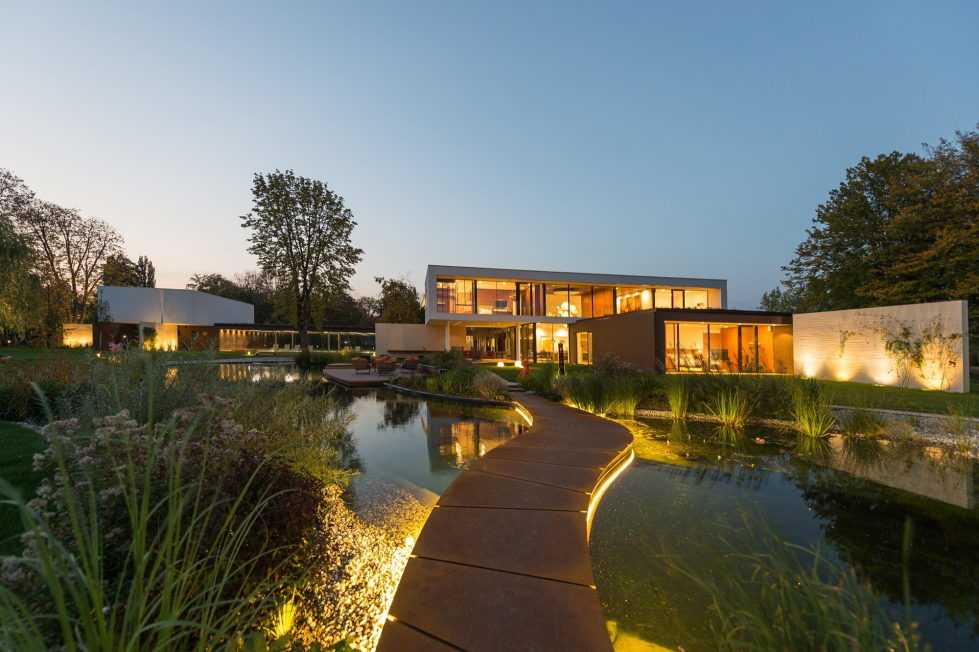 Pi Villa With Outstanding Landscape Park in Cepin From Oliver Grigic 12