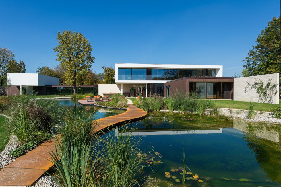 Pi Villa With Outstanding Landscape Park in Cepin From Oliver Grigic 16