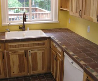 Tile Kitchen Countertops kitchen countertops: selecting functional, reliable and beautiful