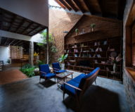 Uncle's House in Dalat, Vietnam upon the project of 3 Atelier 18