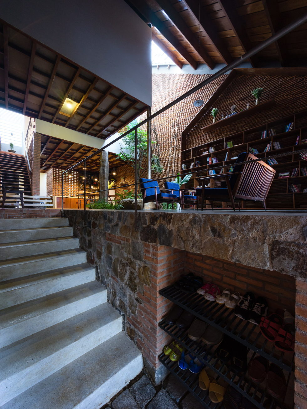 Uncle's House in Dalat, Vietnam upon the project of 3 Atelier 19