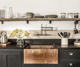 practical and beautiful kitchen countertops 74