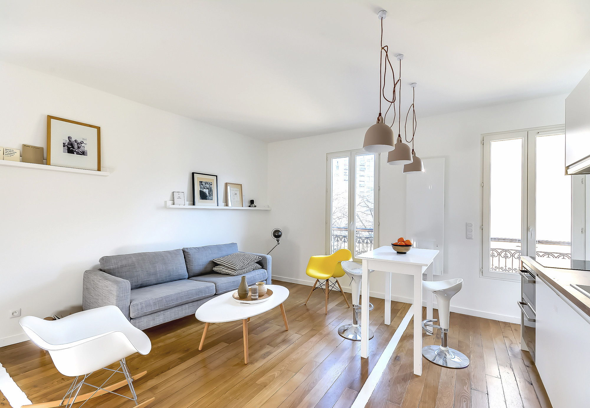 The tiny apartment in paris - Decoration petit espace ...
