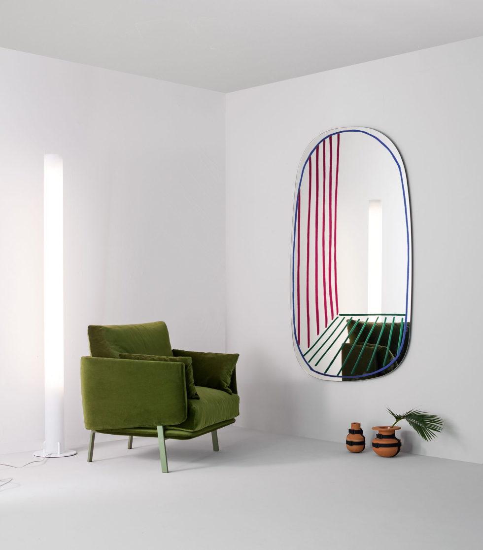 bonaldo new perspective mirror 01 alain gilles