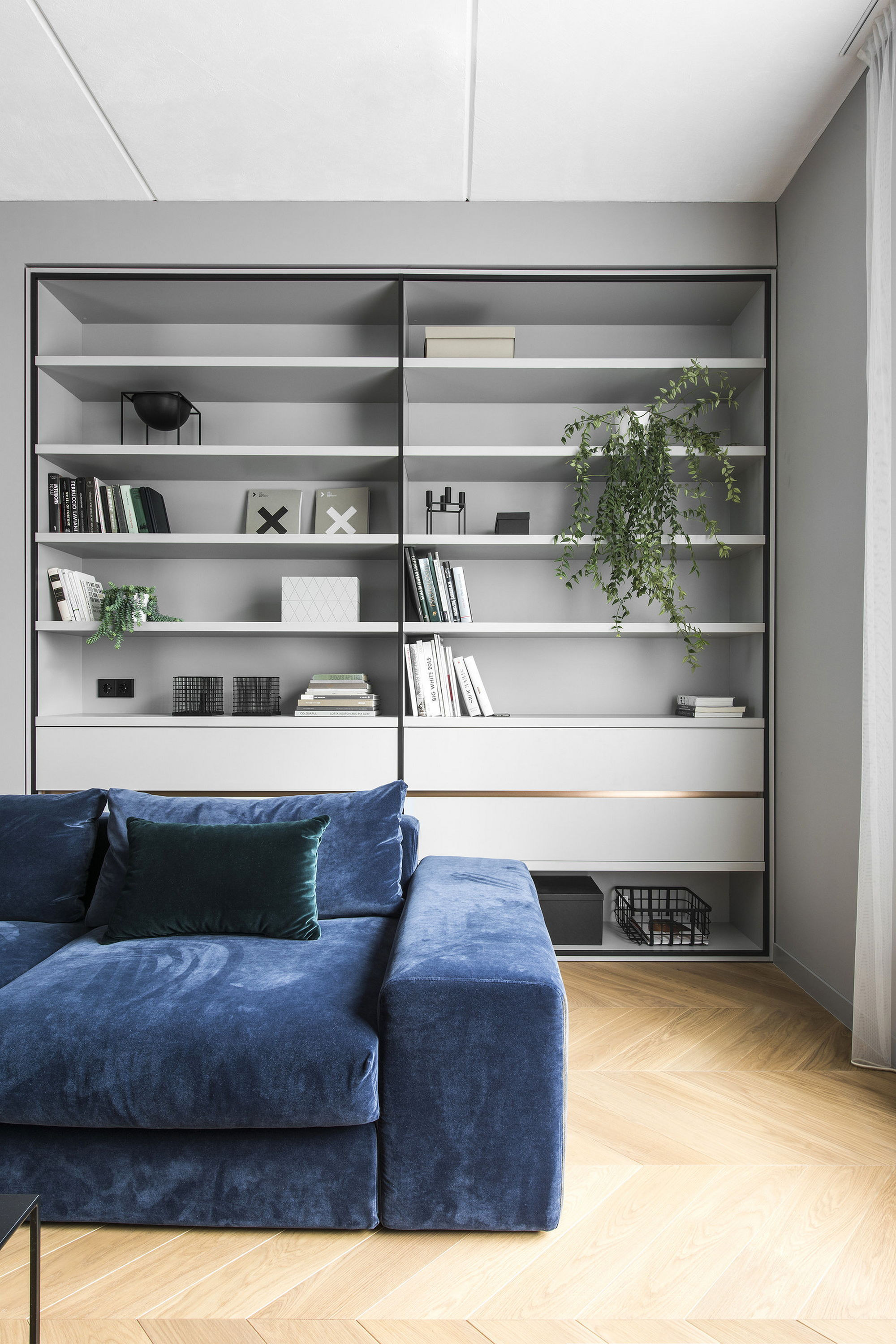 Interior: Interior Of The Apartment In Vilnius