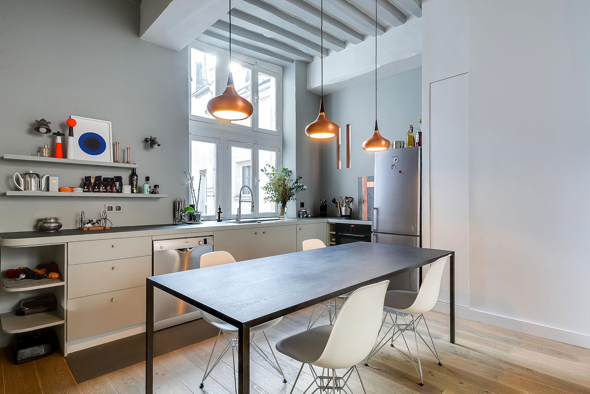 Studio apartment in paris the tatiana nicol s project for Ideal design paris