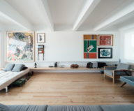 B.A. The Two Level Apartment In Lisbon By Atelier Data 2