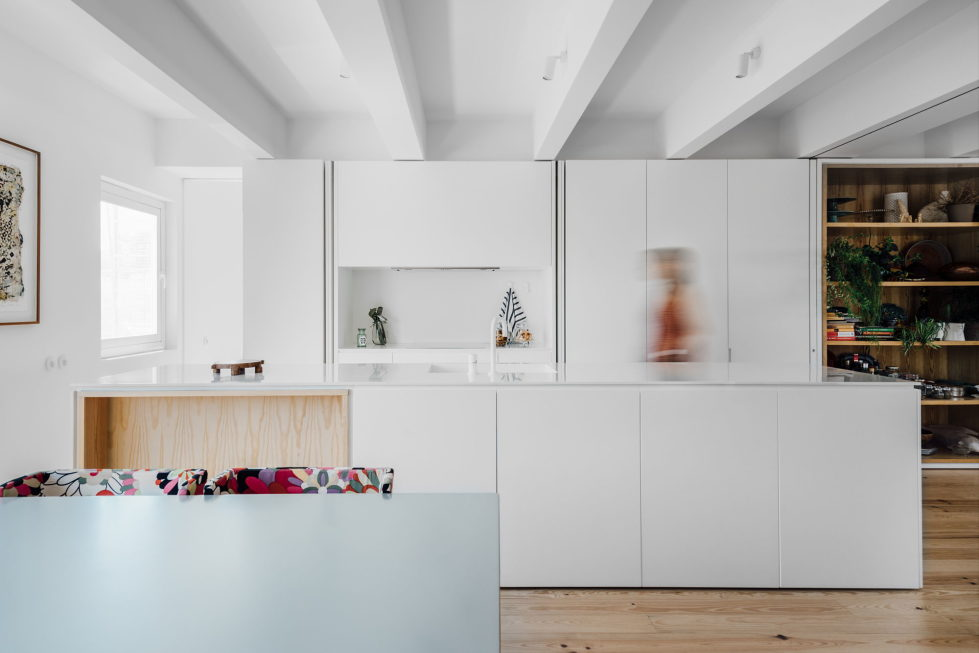 B.A. The Two Level Apartment In Lisbon By Atelier Data 4