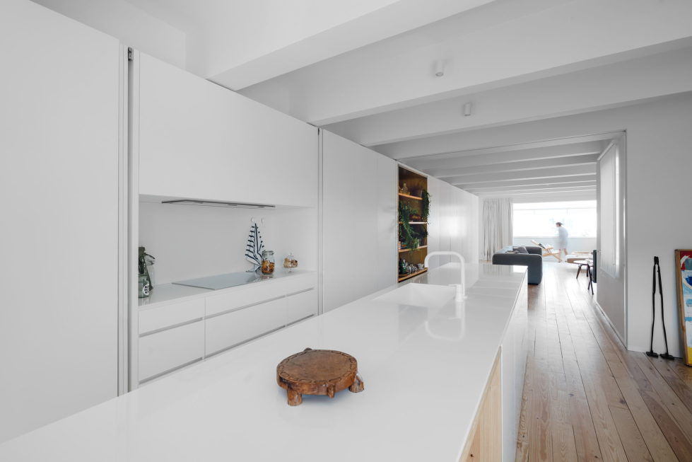B.A. The Two Level Apartment In Lisbon By Atelier Data 9