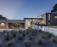 Bracketed Space The Family Residence In Texas 10