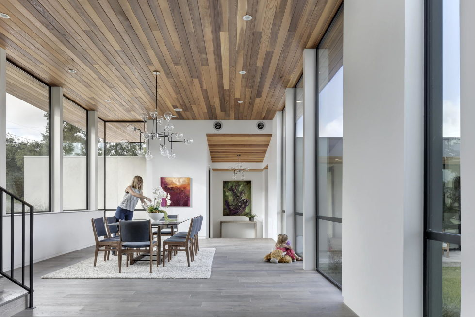 Bracketed Space The Family Residence In Texas 21