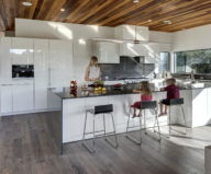 Bracketed Space The Family Residence In Texas 6