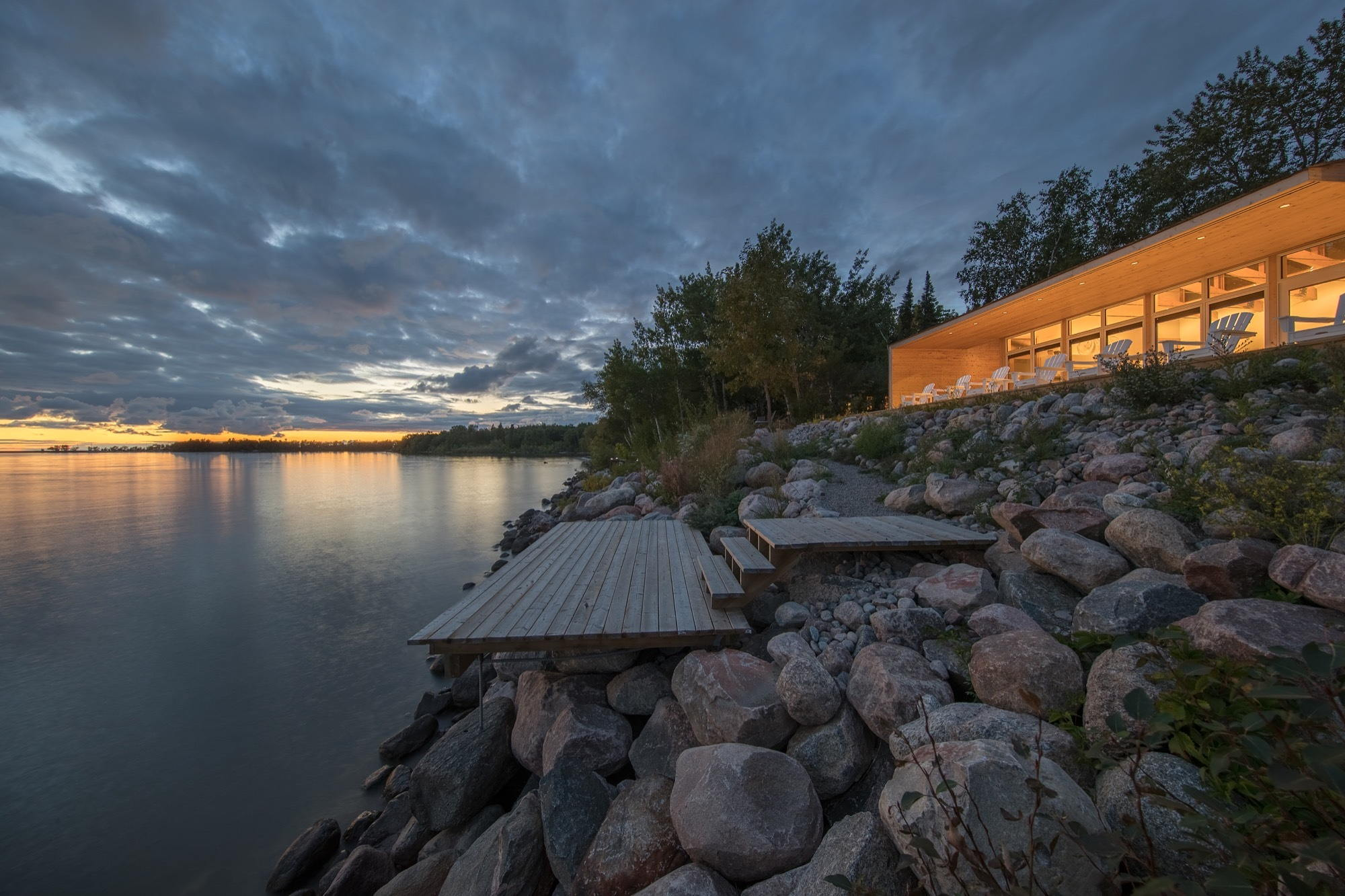 The Beach House On A River S Shore In Canada