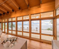 The Beach House On A Rivers Shore In Canada 13