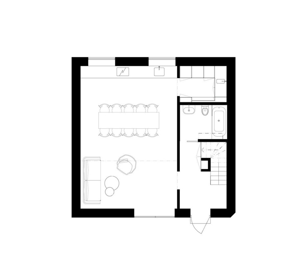 The F015 The Double-Level Apartment in Stockholm 10