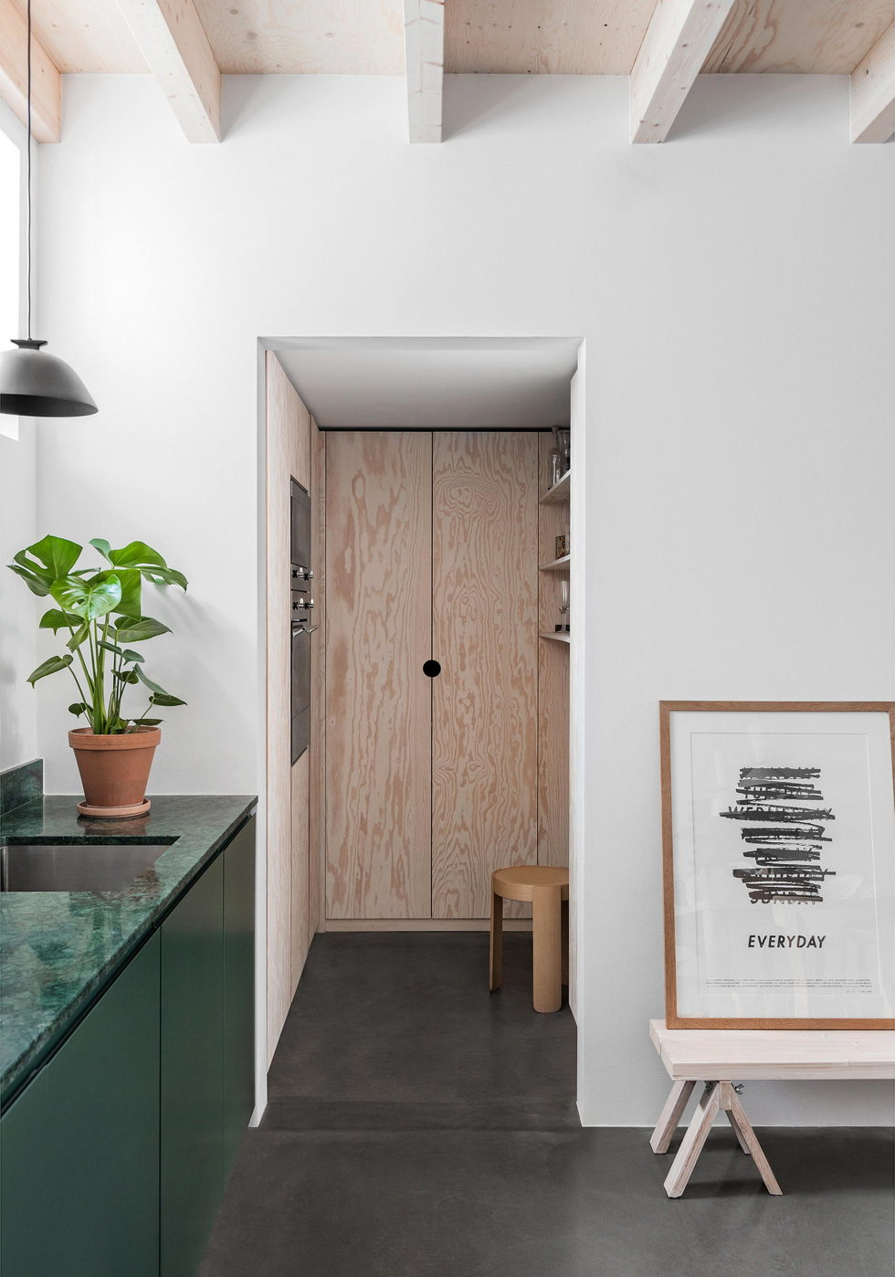 The F015 The Double-Level Apartment in Stockholm 2