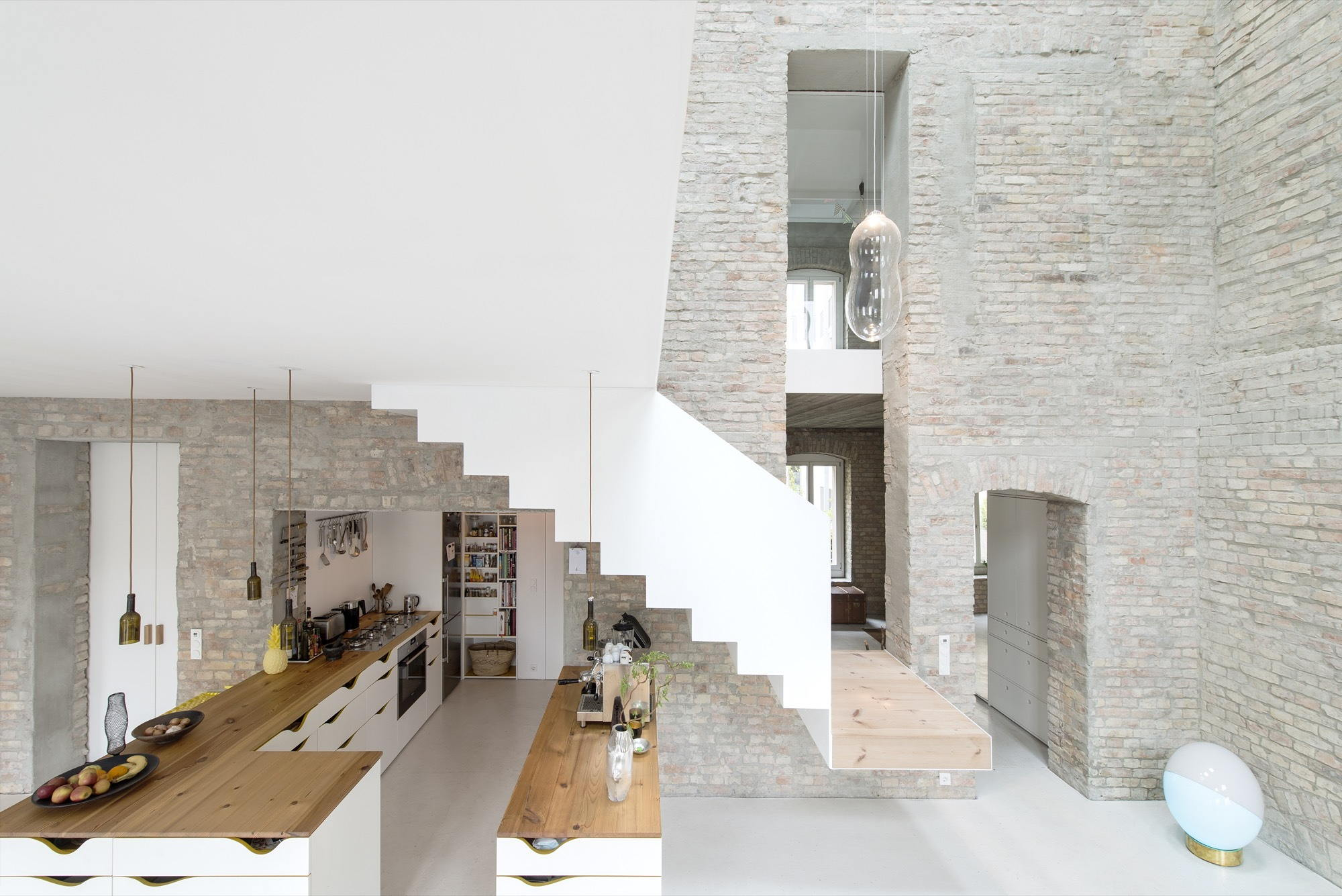 Reconstruction of The Old House in Berlin by asdfg Architekten