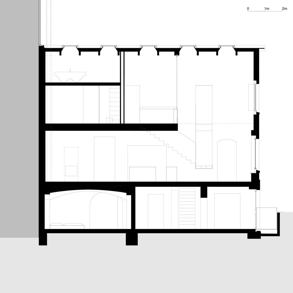 Reconstruction of The Old House in Berlin by asdfg Architekten 34