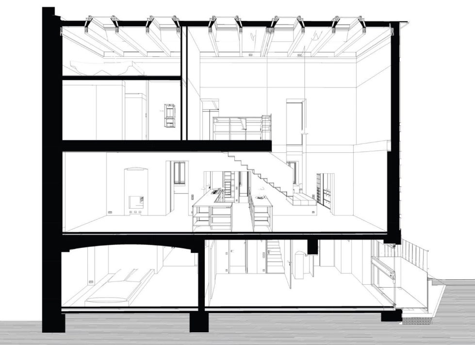 Reconstruction of The Old House in Berlin by asdfg Architekten 36