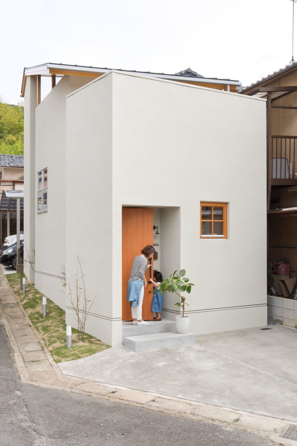 The House In Nipponese Minimalism In Kyoto By ALTS Design Office 2