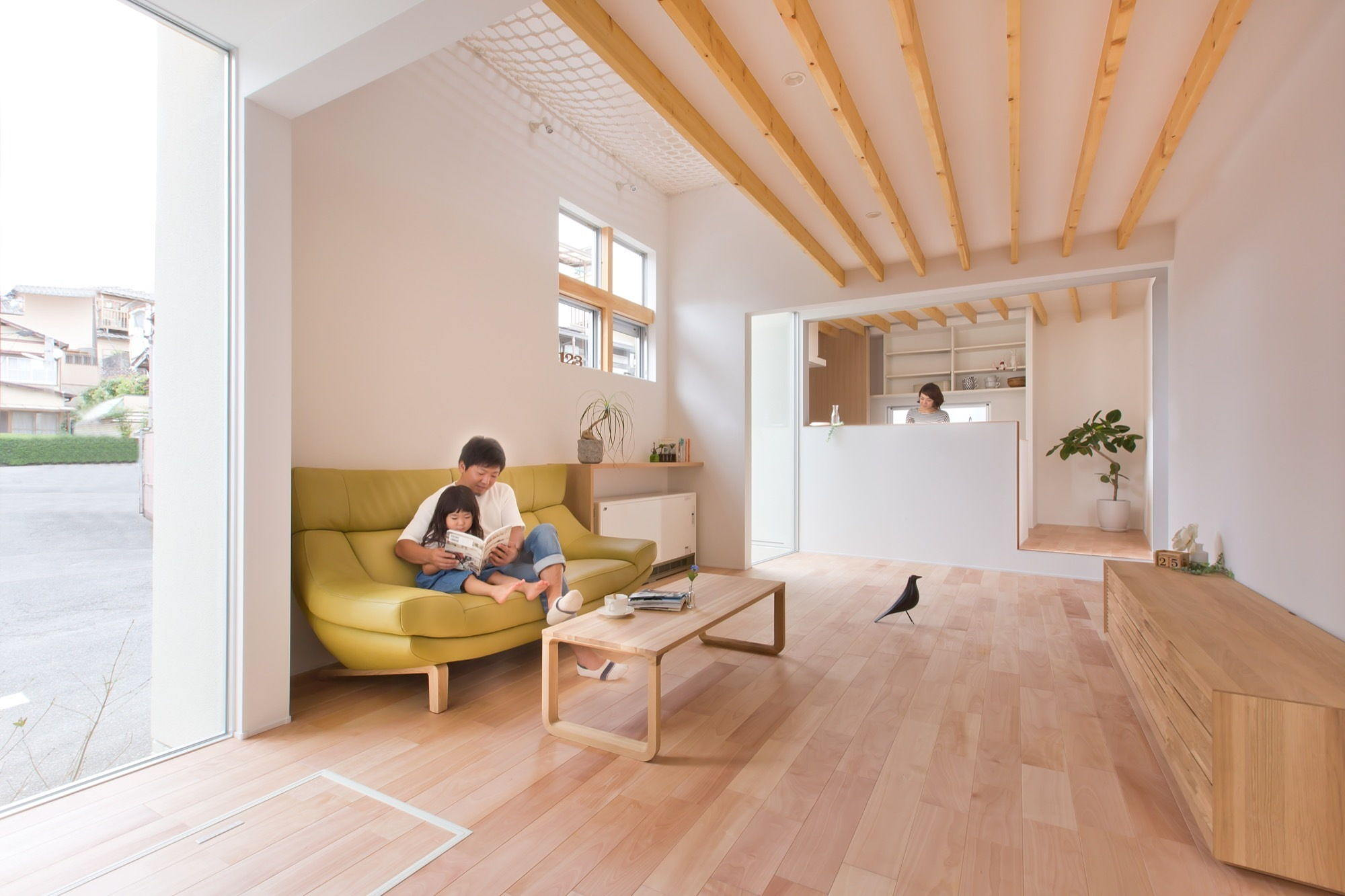 The house in japanese minimalism in kyoto by alts design for Japan minimalist home design